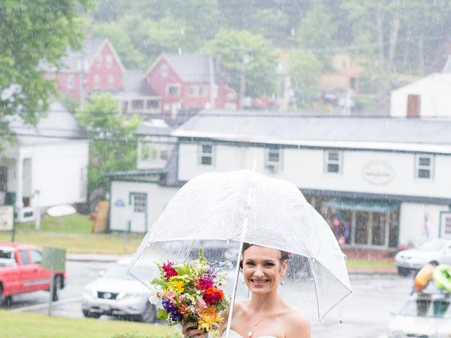 Danielle and Mike's Wedding in Sunapee, New Hampshire 6