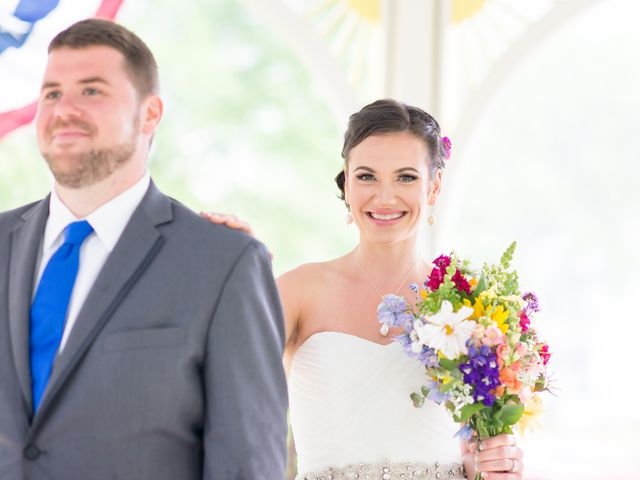 Danielle and Mike's Wedding in Sunapee, New Hampshire 7