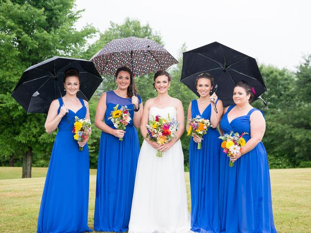 Danielle and Mike's Wedding in Sunapee, New Hampshire 10