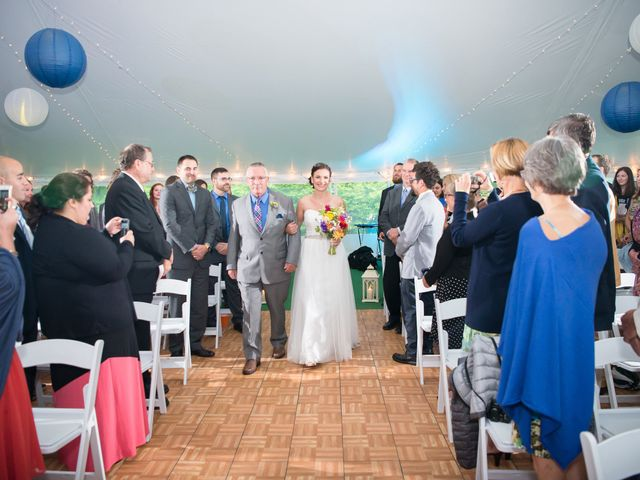 Danielle and Mike's Wedding in Sunapee, New Hampshire 12