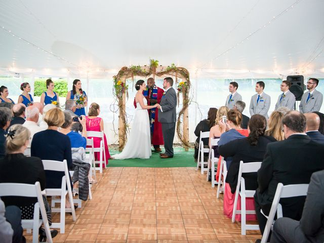 Danielle and Mike's Wedding in Sunapee, New Hampshire 13