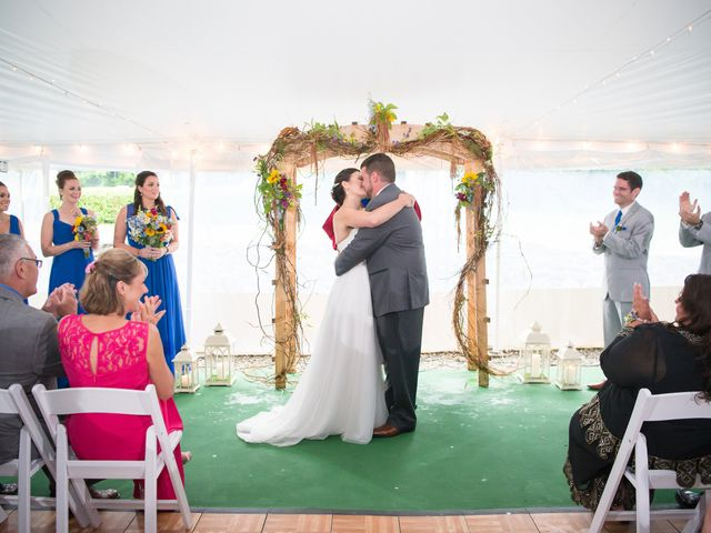 Danielle and Mike's Wedding in Sunapee, New Hampshire 14