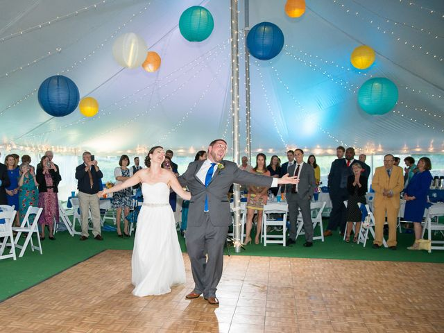 Danielle and Mike's Wedding in Sunapee, New Hampshire 16