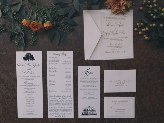 Carrie Anne and Kiel's Wedding in Tallahassee, Florida 1