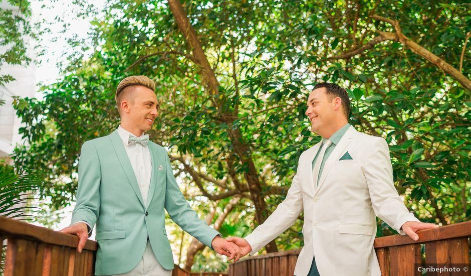 Craig and Darin's Wedding in Playa del Carmen, Mexico