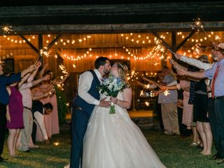 The wedding of Hannah and Alec 1