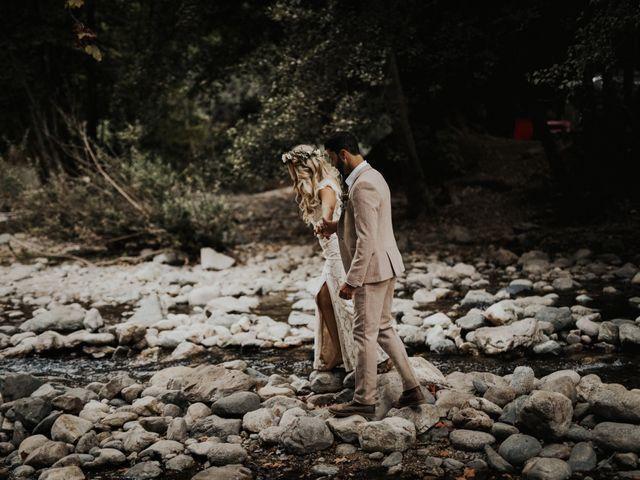 Brandon and Stephanie's Wedding in Big Sur, California 9