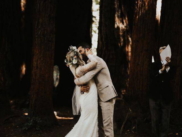 Brandon and Stephanie's Wedding in Big Sur, California 6