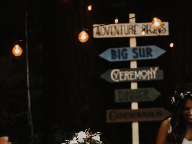 Brandon and Stephanie's Wedding in Big Sur, California 7