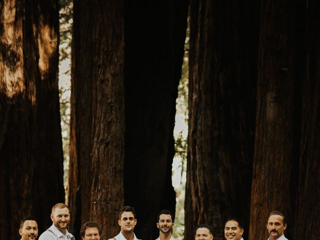 Brandon and Stephanie's Wedding in Big Sur, California 8