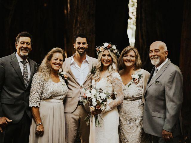 Brandon and Stephanie's Wedding in Big Sur, California 10