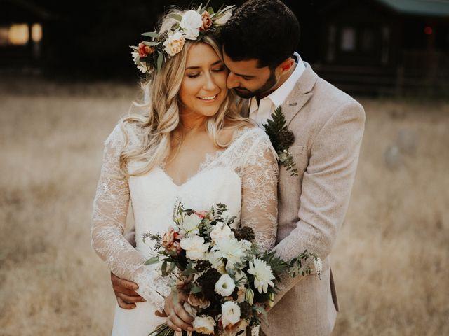 The wedding of Stephanie and Brandon