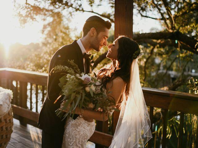 The wedding of Lexa and Landon