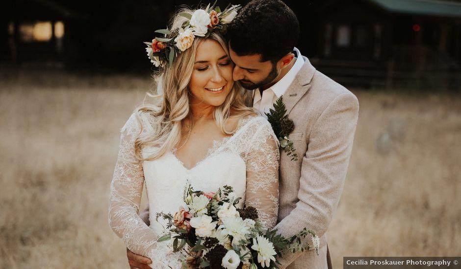 Brandon and Stephanie's Wedding in Big Sur, California