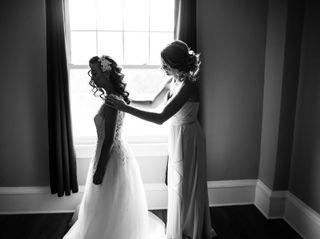 The wedding of Lauren and Frank 1