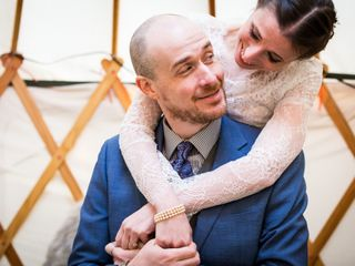 The wedding of Nathan and Stephanie