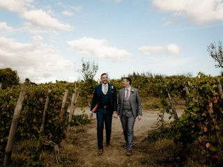 The wedding of Daniel and Gareth
