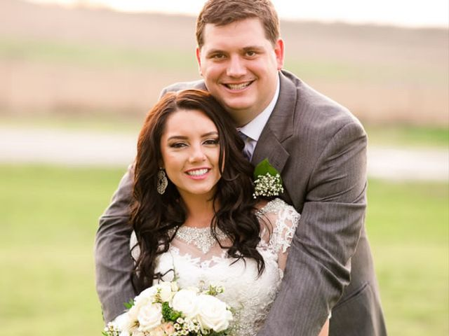 The wedding of Brady and Lexy