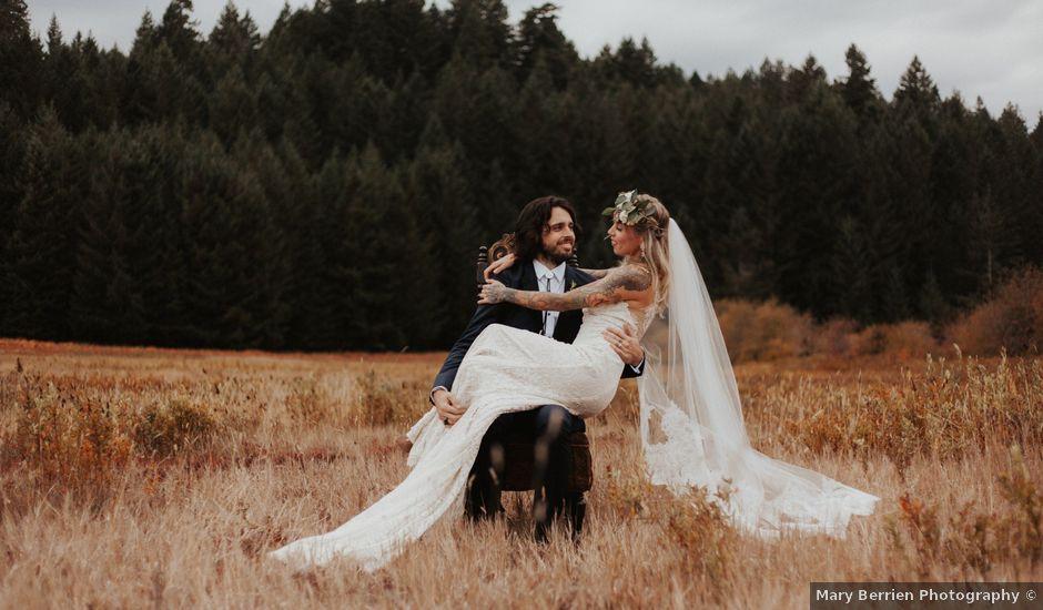 Jake and Jessie's Wedding in Sublimity, Oregon