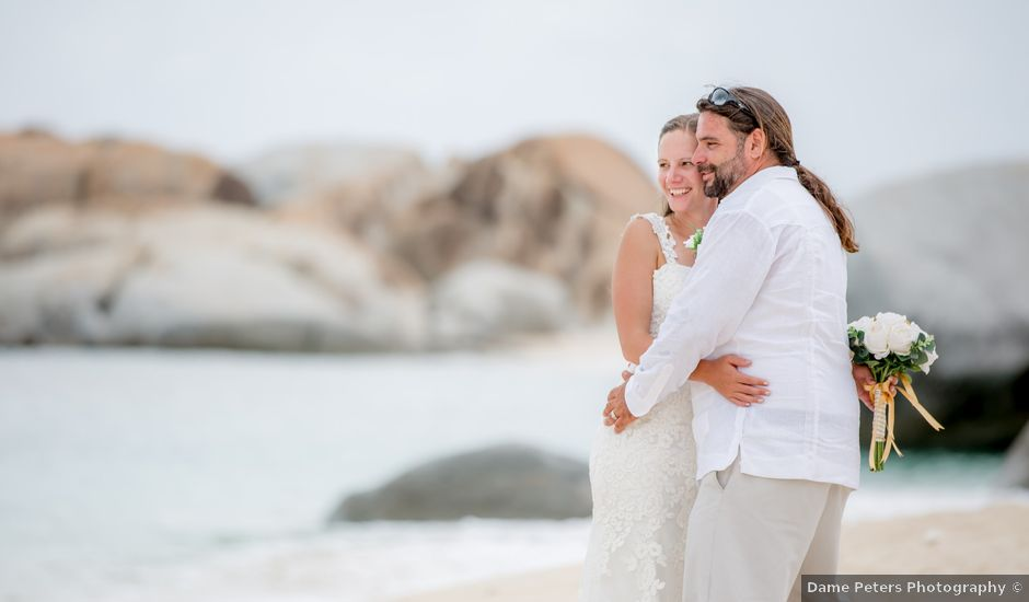 Angel and Jessica's Wedding in Virgin Gorda, British Virgin Islands