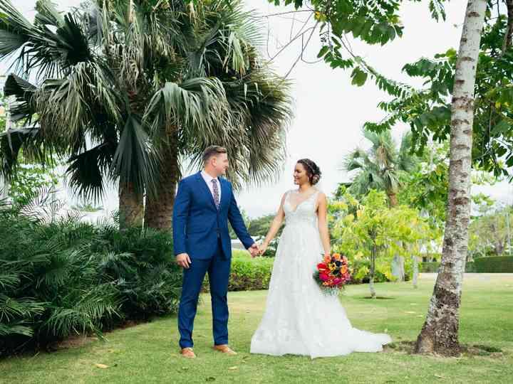 The wedding of Katherine and Matt