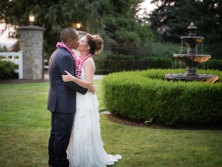 The wedding of Rochelle and Chad