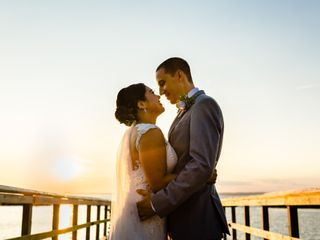 The wedding of Karyn and Evan