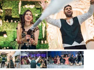 The wedding of Bindya and Himesh 2