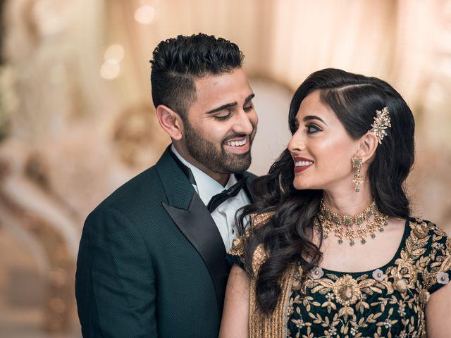 The wedding of Bindya and Himesh