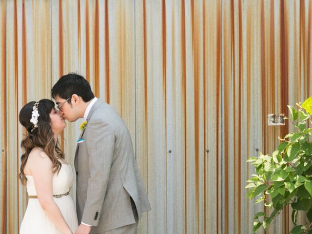 The wedding of Bryan and Allie