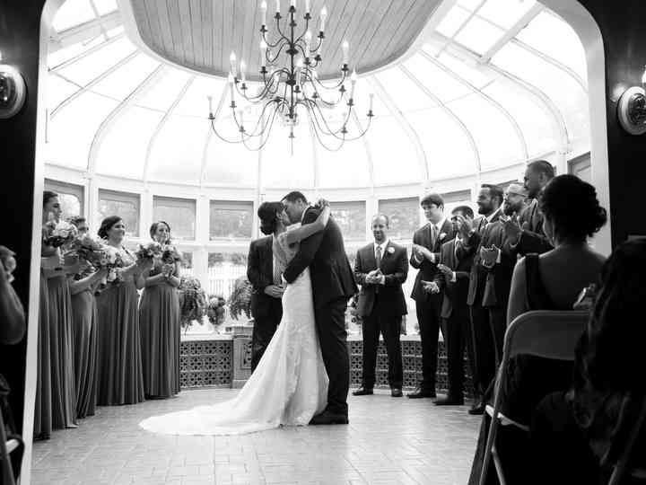 The wedding of Marylou and Kevin