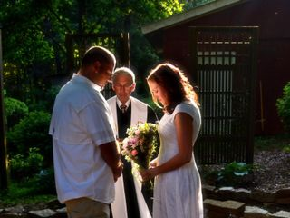 The wedding of Chris and Heather 1