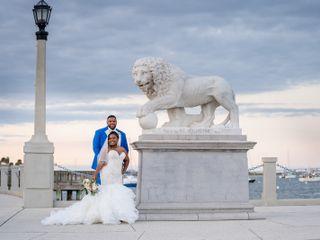 The wedding of Keondra  and Brandon