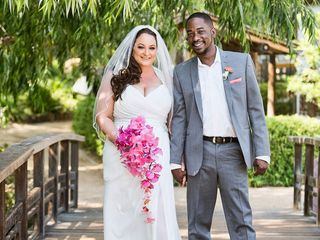The wedding of Garry and Rachel 1