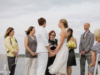 Heather and Kristy's Wedding in Lake Dallas, Texas 8