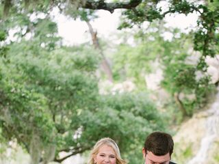 Aryn and Eddie's Wedding in Spring Branch, Texas 12