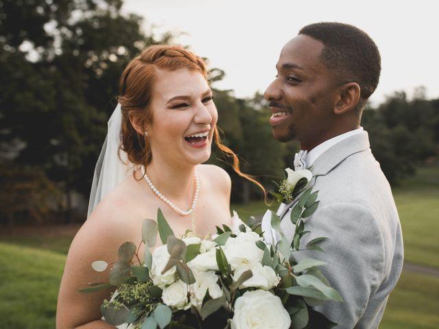 Byron and Ashleigh's Wedding in Asheville, North Carolina 1