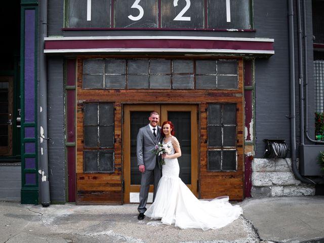 The wedding of Laura and Brett