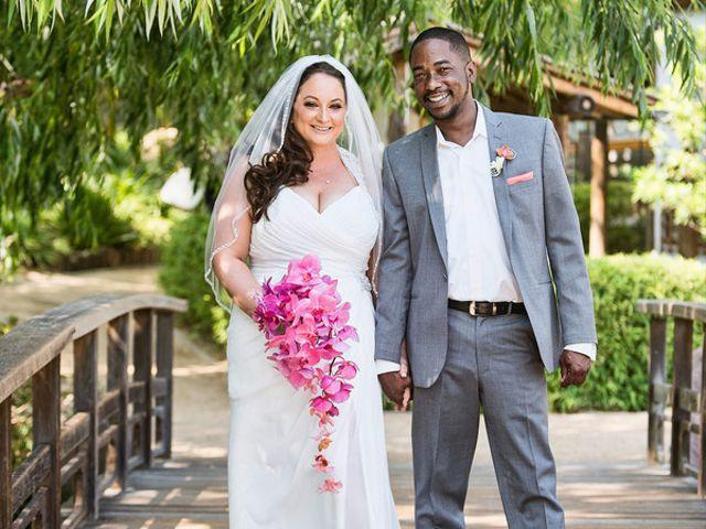 The wedding of Garry and Rachel