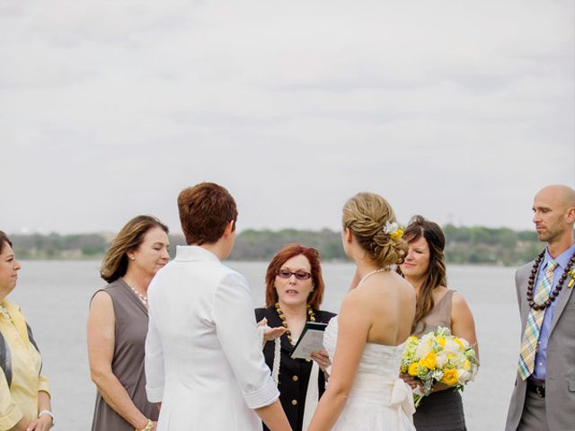 Heather and Kristy's Wedding in Lake Dallas, Texas 7