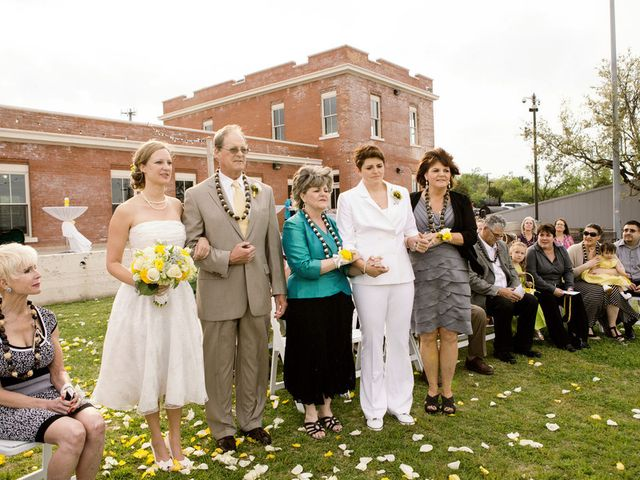 Heather and Kristy's Wedding in Lake Dallas, Texas 6