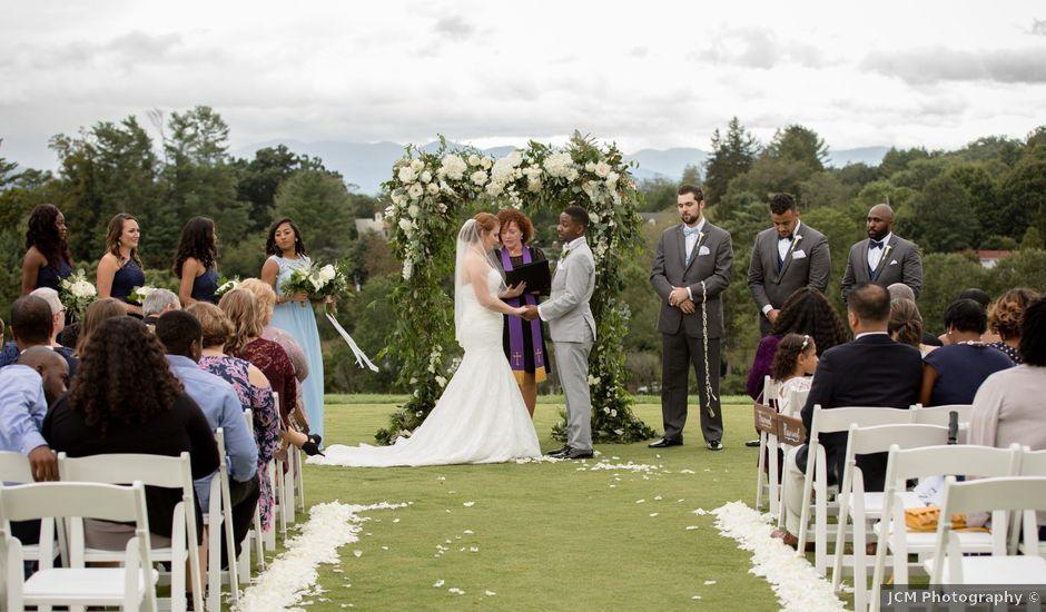 Byron and Ashleigh's Wedding in Asheville, North Carolina