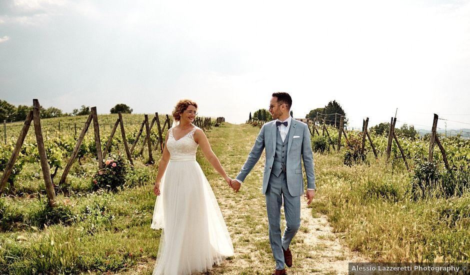 Rick and Gemma's Wedding in Tuscany, Italy