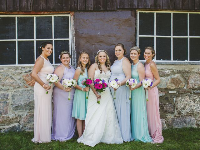 Danielle and Chris's Wedding in Kingman, Maine 2