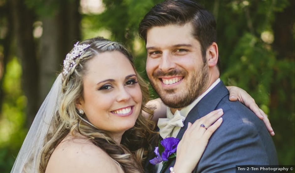Danielle and Chris's Wedding in Kingman, Maine