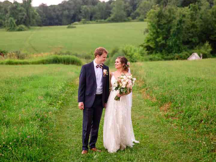 The wedding of Jamie and Spencer