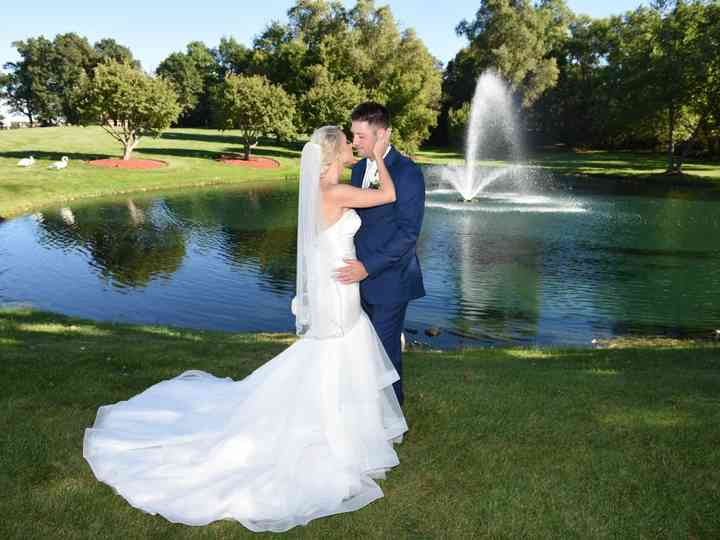 The wedding of Brittany and Ben