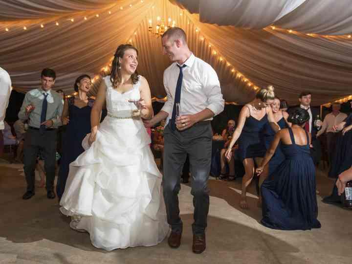 The wedding of Caitlin and Steve