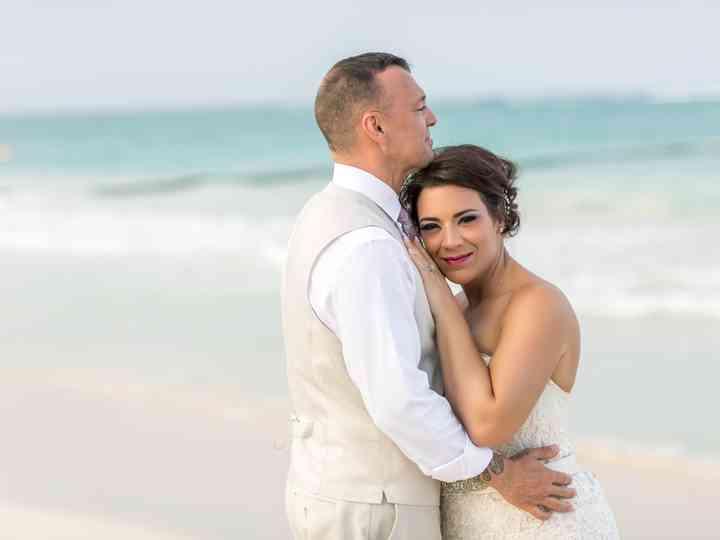 The wedding of Melanie and Carlos