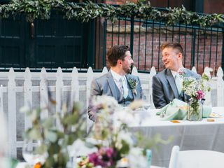 The wedding of Andy and Ben